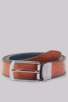 Ted Baker Tan Brogue Detail Belt