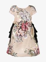 Fendi floral fil coupé mini dress
