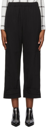 Stella McCartney Black Cropped Sylvia Trousers