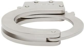 Vetements Silver Handcuff Bracelet