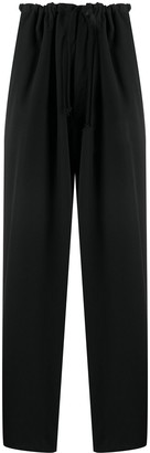 Yohji Yamamoto High-Waisted Pleated Trousers