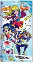 Fashion Angels DC Super Hero Girls Stickerzine by