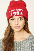 Forever 21 FOREVER 21+ New York 1984 Beanie