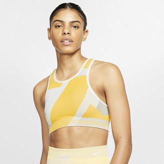 Nike Women's Seamless Light-Support Sports Bra Icon Clash