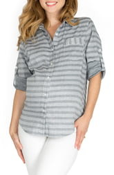 Nom Maternity Sadie Maternity/Nursing Shirt