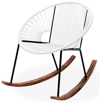 Mexa Ixtapa Rocking Chair - White