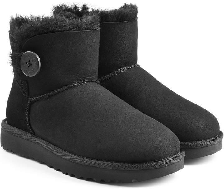 744e8bdf8e0 Mini Bailey Button Shearling Lined Suede Boots