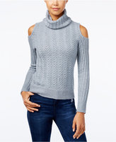 American Rag Cold-Shoulder Turtleneck Sweater, Only at Macy's