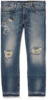 Dolce & Gabbana - Embellished Denim Jeans