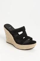 UGG 'Tawnie' Sandal Black 8.5 M