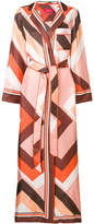 F.R.S For Restless Sleepers floor-length belted robe