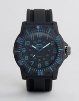 Slazenger Black Watch With Blue Markings