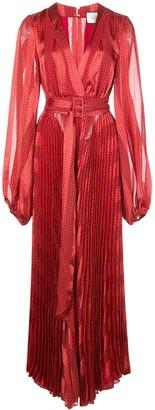 Alexis Salamo pleated dress