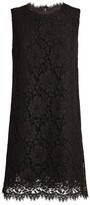 Dolce & Gabbana Sleeveless Lace Mini Dress