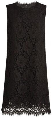 Dolce & Gabbana Sleeveless Lace Mini Dress