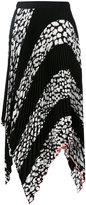 Proenza Schouler leopard print pleated skirt