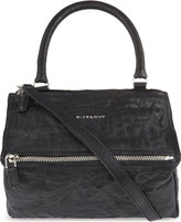 Givenchy Pandora small washed leather shoulder bag