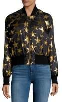 C&C California Star Print Bomber Jacket