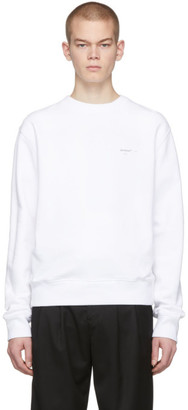 Off-White White Logo Sweatshirt