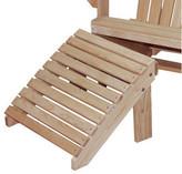 Adirondack Hershy Way Cypress Chair Footrest