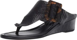 Donald J Pliner OLTINA-US Black Sandal 9