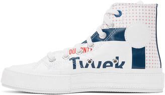 Converse White Tyvek Chuck 70 Hi Sneakers