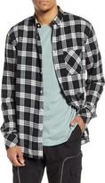 Zanerobe Checker Plaid Flannel Button-Down Shirt