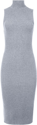 Alice + Olivia Brooklynne Turtleneck Midi Dress