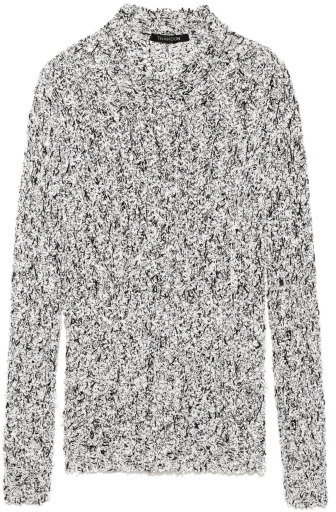 Thakoon Preorder Knit Tweed Lace Pullover