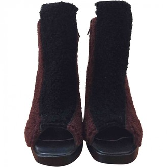 Opening Ceremony Other Mongolian Lamb Ankle boots