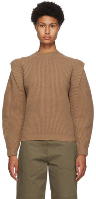 Isabel Marant Brown Cashmere and Wool Bolton Sweater