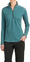 Woolrich Canoe Run Shirt - Zip Neck, Long Sleeve (For Women)
