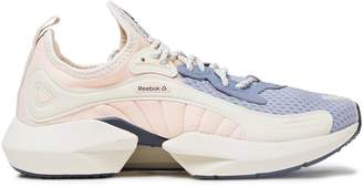 Reebok Sole Fury Color-block Quilted-jersey Sneakers