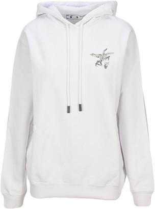 Off-White Off White Reflective Birds Arrow Hoodie