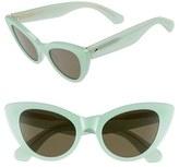 Kate Spade Women's 'Deandra' 50Mm Cat Eye Sunglasses - Green