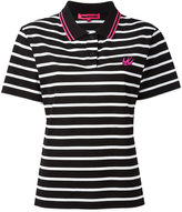 McQ by Alexander McQueen Swallow embroidered polo shirt - women - Cotton - XS