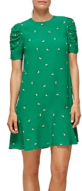 Whistles Georgina Floral Print Dress