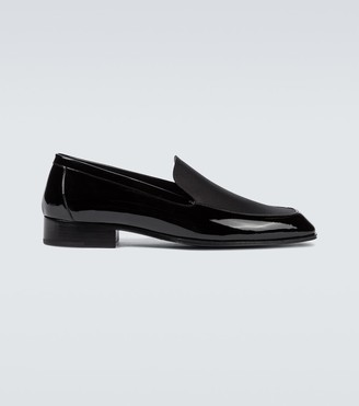 Saint Laurent Henry patent leather loafers