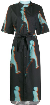 Paul Smith Tie-Dye Shirt Dress