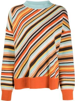 Marni Intarsia Stripe Pattern Jumper