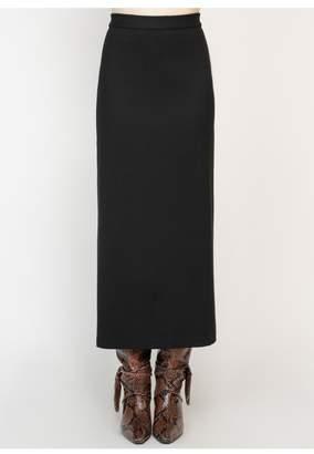 Rosetta Getty Straight Maxi Skirt