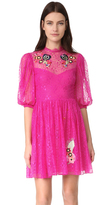 Temperley London Leo Lace Mini Dress