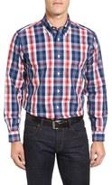 Brooks Brothers Men's No-Iron Broadcloth Plaid Sport Shirt