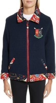 Opening Ceremony Women's Sorority Print Reversible Knit Jacket