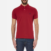 Polo Ralph Lauren Men's Custom Fit Polo Shirt Eaton Red