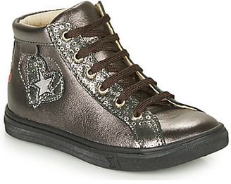 GBB MARTA girls's Shoes (High-top Trainers) in Grey
