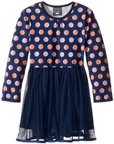 Toobydoo Dot Party Dress (Infant/Toddler)