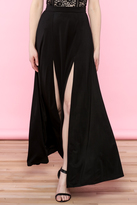 WYLDR Black Maxi Skirt