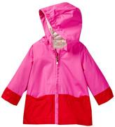 Kate Spade Hooded Colorblocked Raincoat (Baby Girls)