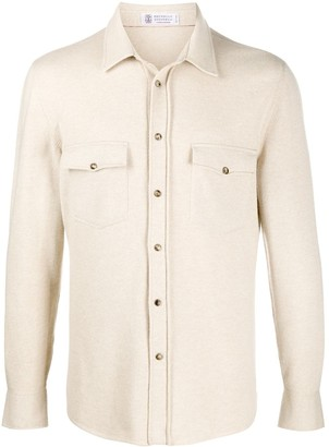 Brunello Cucinelli Fine Knit Shirt